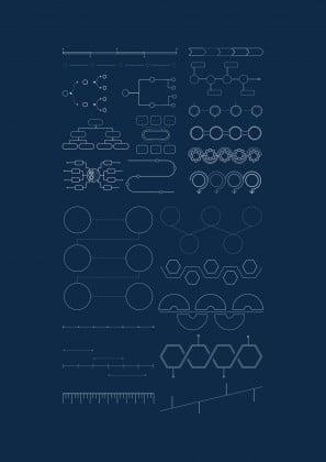 Diviseurs de matières pour classeurs à anneaux élémentaires : Modèles de présentation