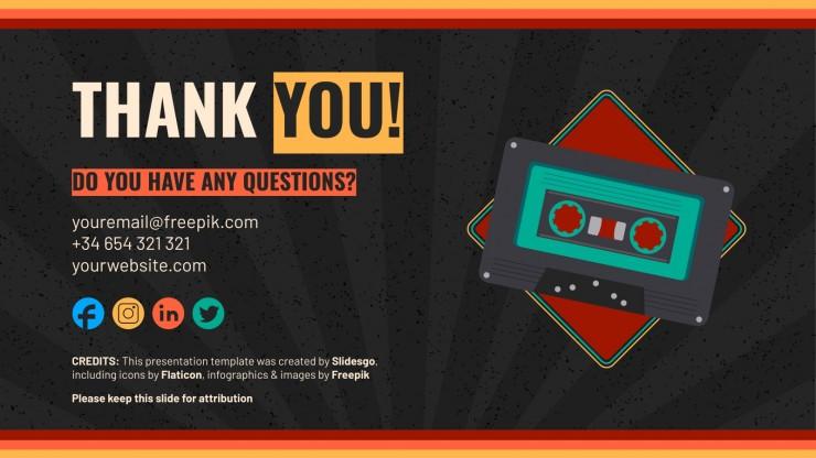 Cassette Style Workshop presentation template