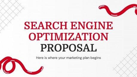 Search Engine Optimization Proposal presentation template