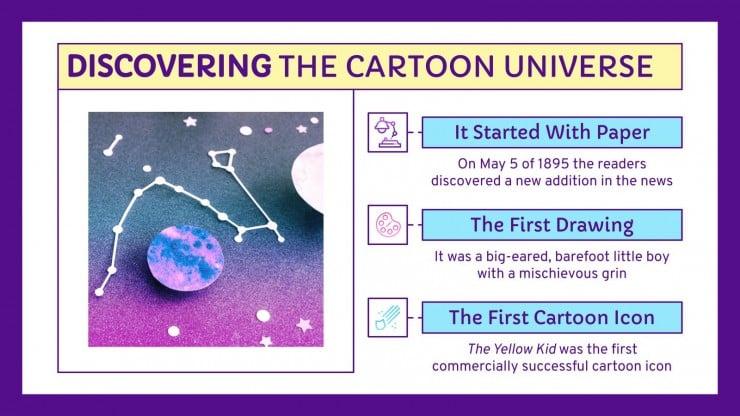 Modelo de apresentação Dia do caricaturista