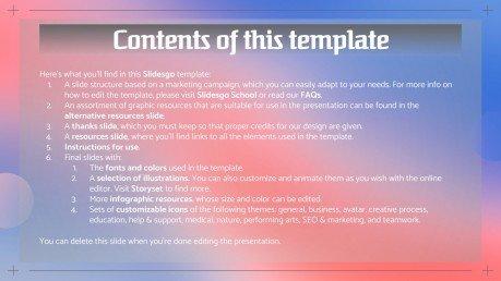 Campagne de marketing de parrainage : Modèles de présentation