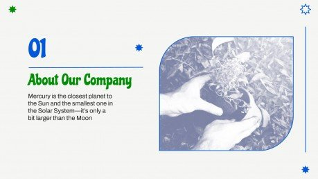 Modelo de apresentação Perfil da empresa