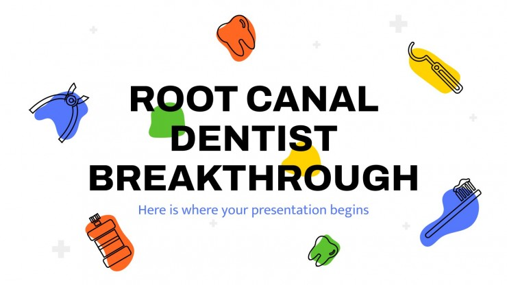 Root Canal Dentist Breakthrough presentation template