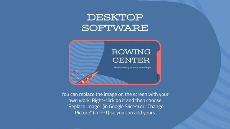 Rowing Center presentation template
