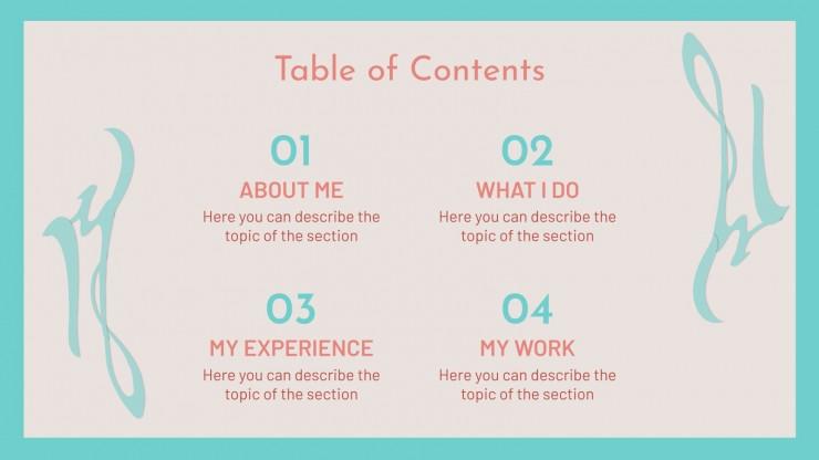 Necra Portfolio presentation template