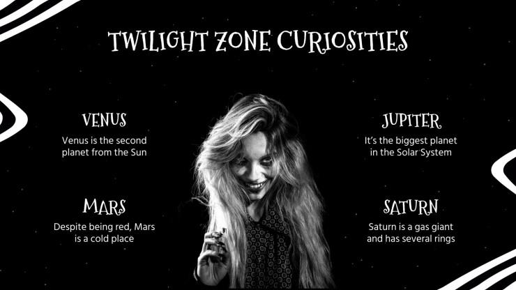 Twilight Zone Day presentation template
