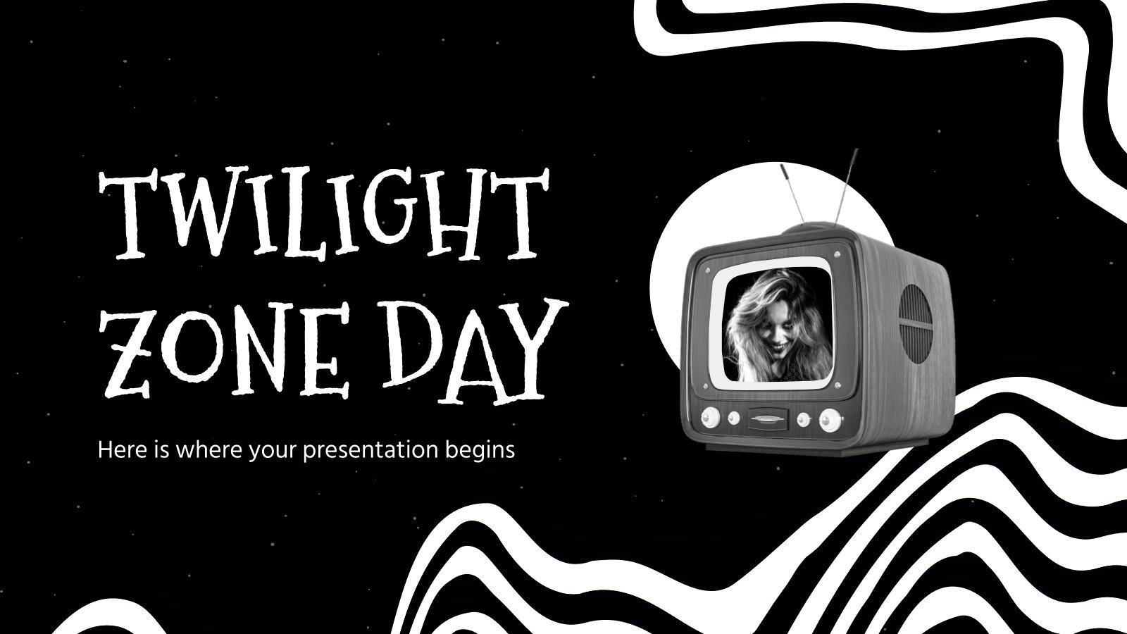 Twilight Zone Day presentation template