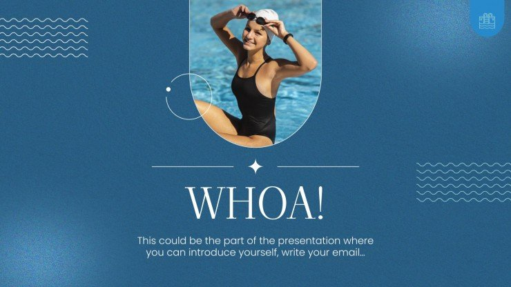 Learn to Swim Day presentation template