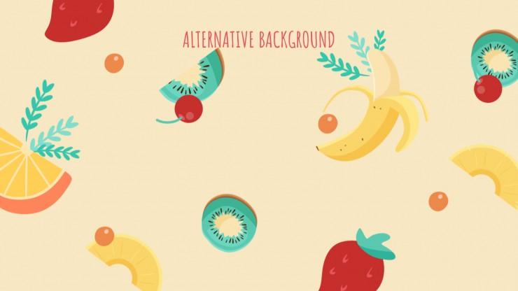 Fruits Marketing Campaign presentation template