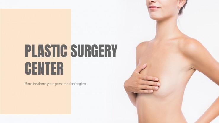 Modelo de apresentação Centro de cirurgia plástica