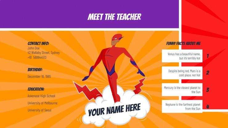 Rentrée scolaire : Modèles de présentation