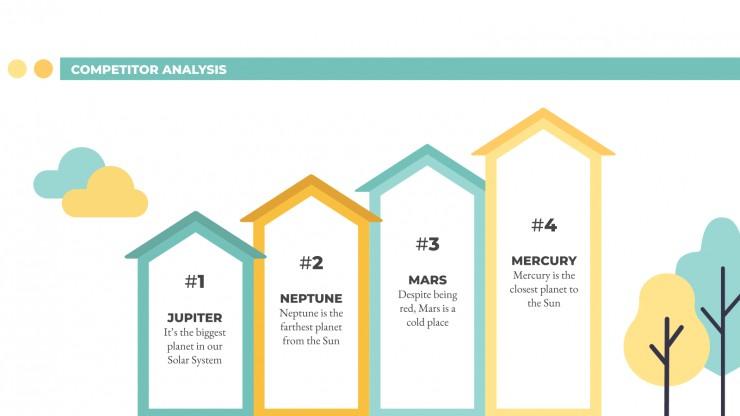 Real Estate Marketing Plan presentation template