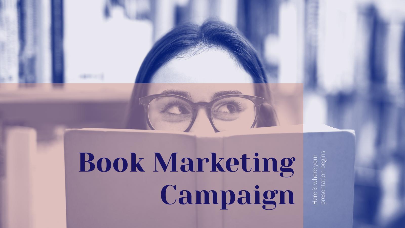 Book Marketing Campaign presentation template