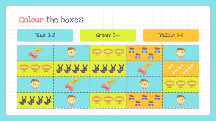Printable Number Sense Activities for Pre-K presentation template