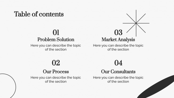 Simple Shapes Consulting Toolkit presentation template