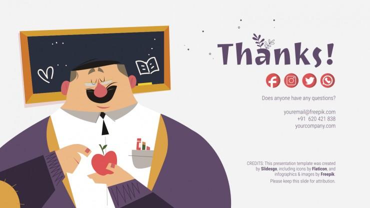 World Teachers' Day presentation template