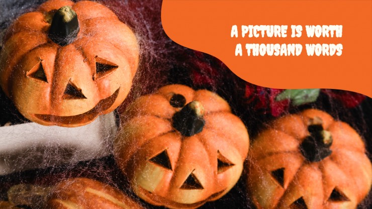 Modelo de apresentação Halloween