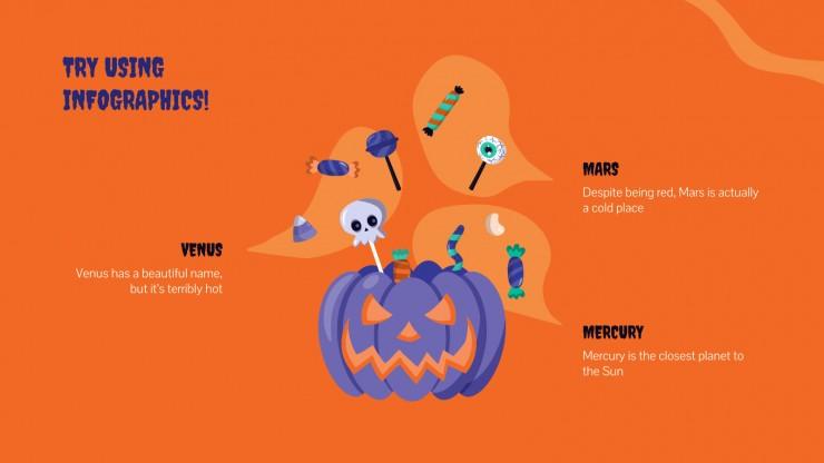 Halloween presentation template