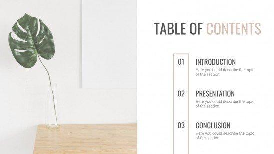 Interior Design presentation template