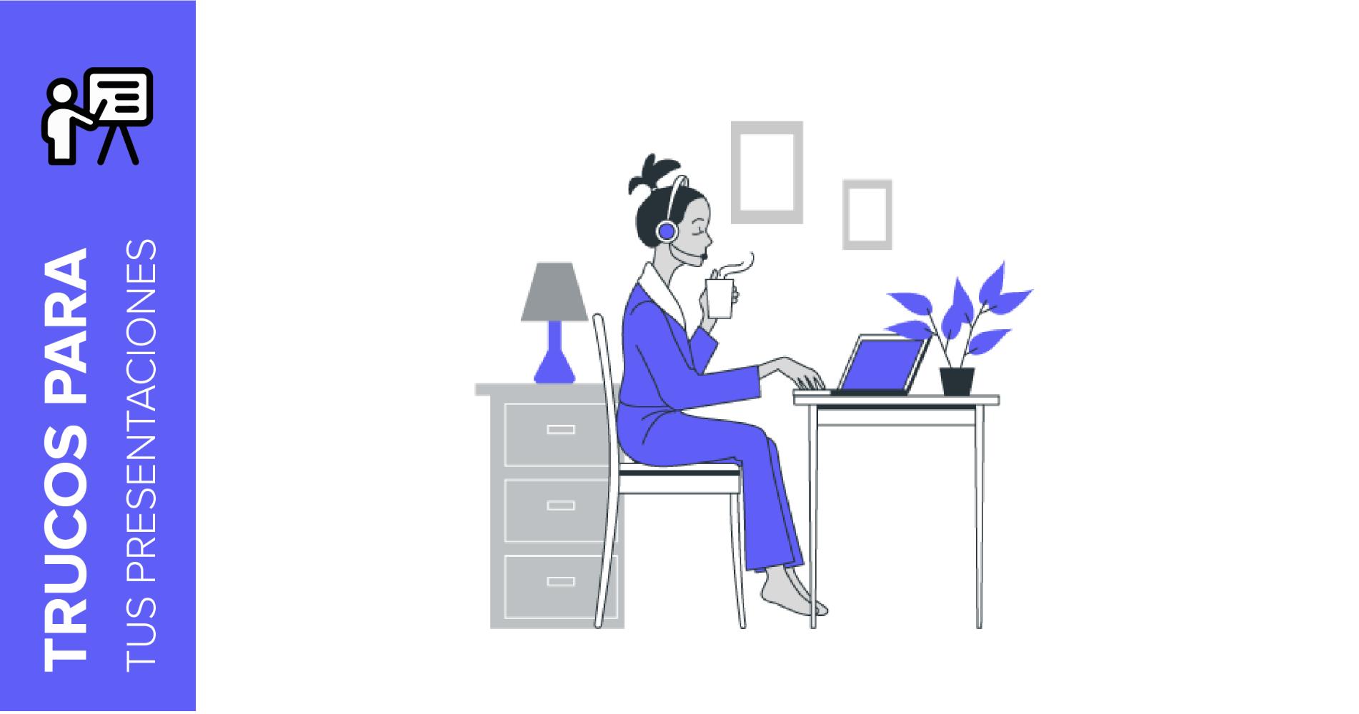 Consejos para el teletrabajo: las mejores plantillas para propuestas de proyectos y reuniones | Tutoriales y Tips para tus presentaciones