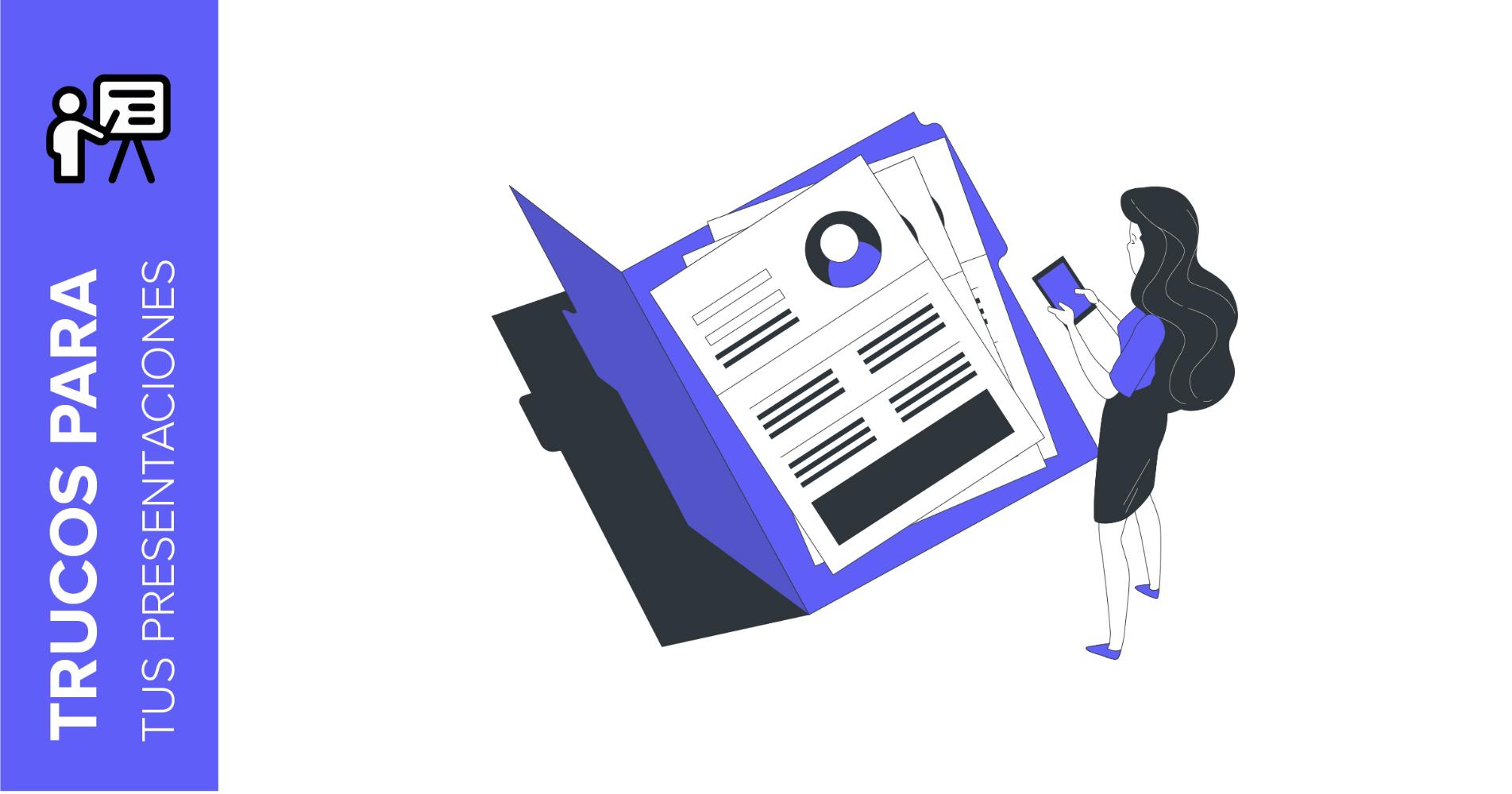 Tips para crear un CV atractivo en forma de presentación | Tutoriales y Tips para tus presentaciones