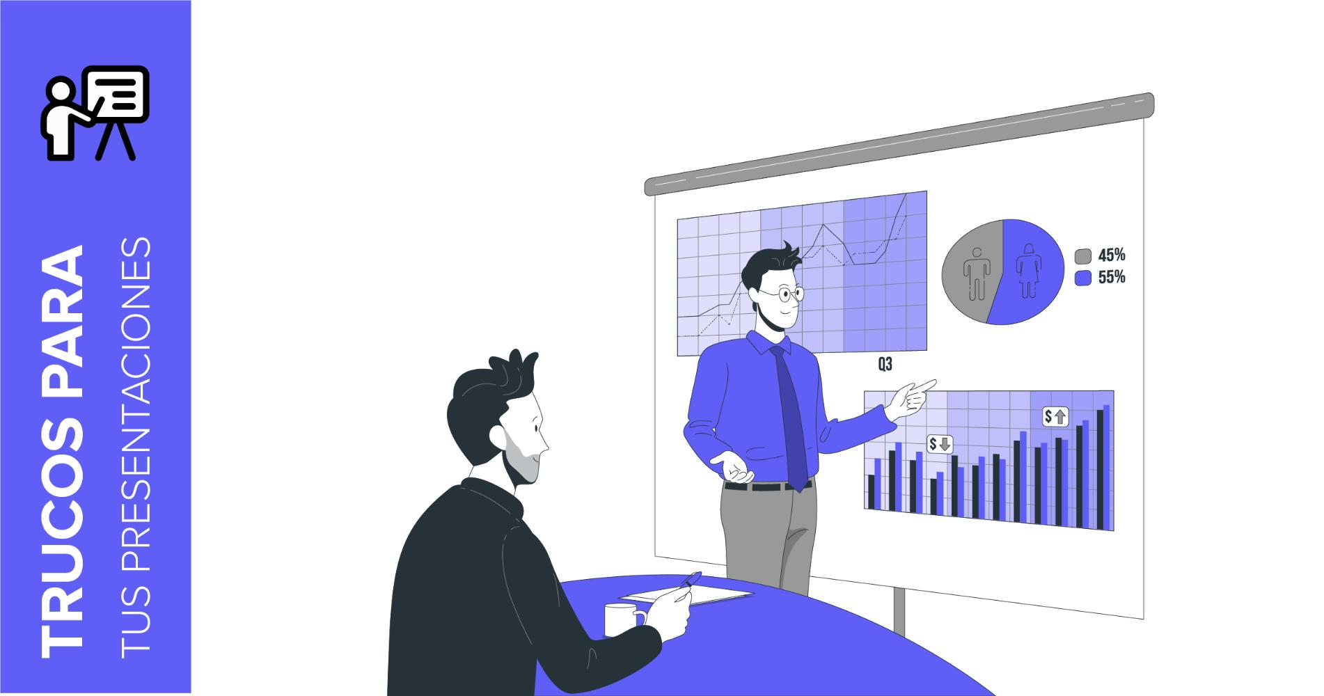 Cómo modificar una gráfica en nuestras presentaciones | Tutoriales y Tips para tus presentaciones