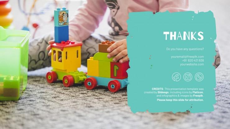 Modelo de apresentação Creches e escolinhas