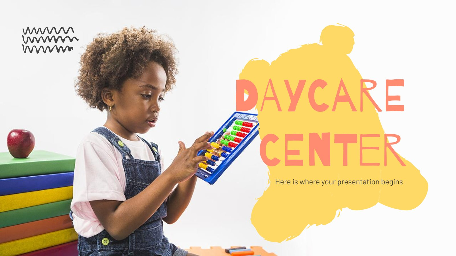 Daycare Center presentation template