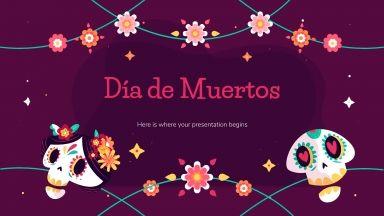 Le jour des morts : Modèles de présentation