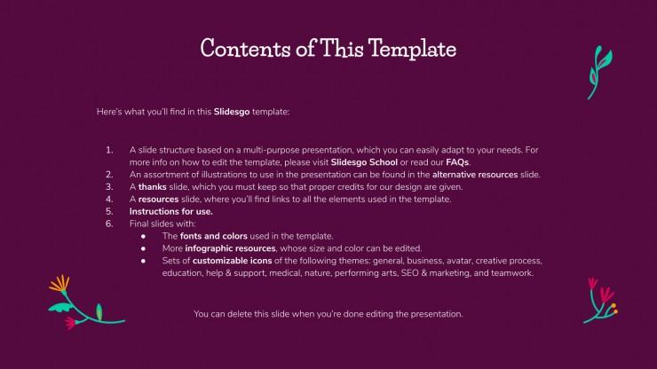 Día de Muertos presentation template