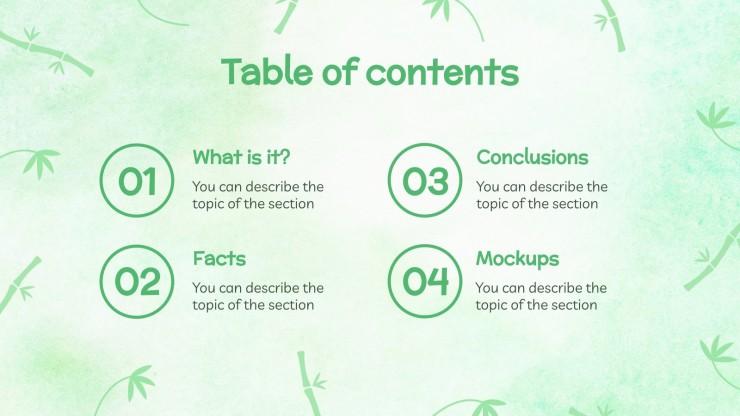 Damyang Bamboo Festival presentation template