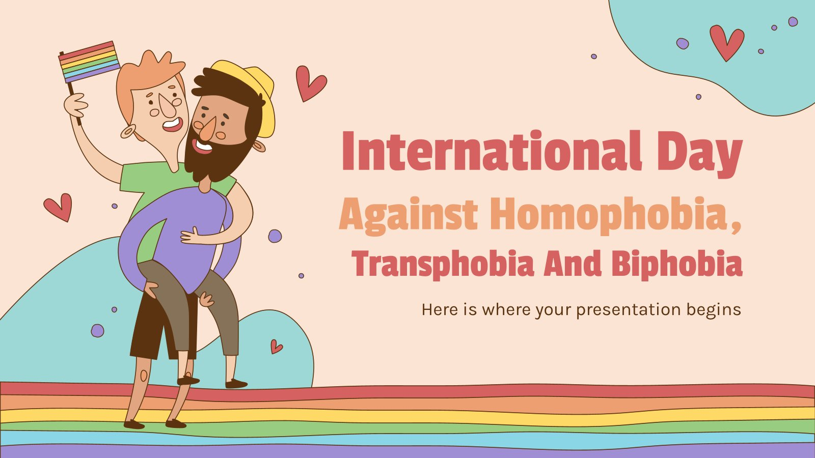 International Day against Homophobia, Transphobia and Biphobia presentation template