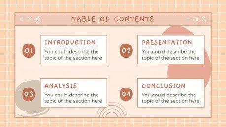 Kawaii Interface for Marketing presentation template