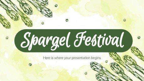 Modelo de apresentação Festival Spargel