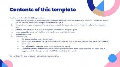 Modelo de apresentação Proposta de projeto de demonstração financeira