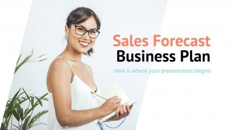 Sales Forecast Business Plan presentation template