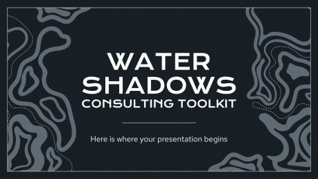 Water Shadows Consulting Toolkit presentation template