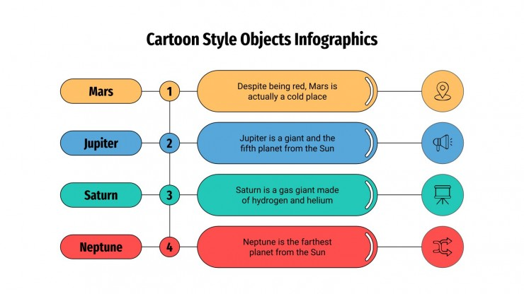 Cartoon Style Infographics presentation template