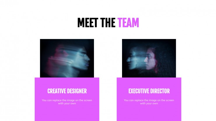 Neon Agency presentation template