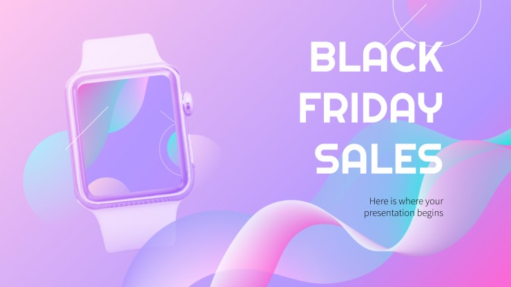 Black Friday Sales presentation template