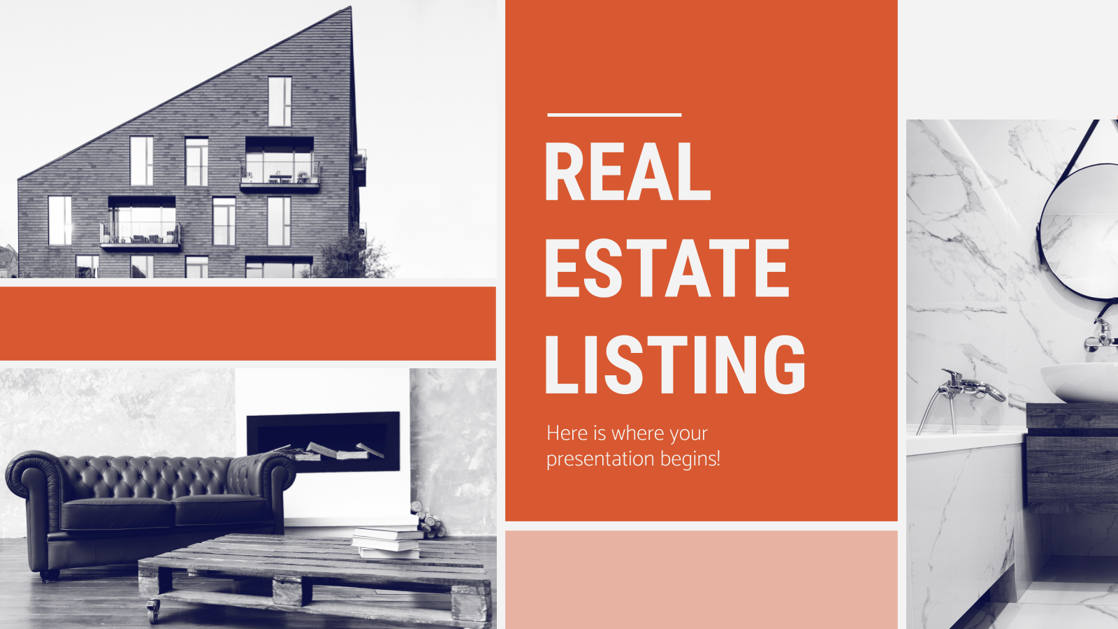 Real Estate Listing presentation template