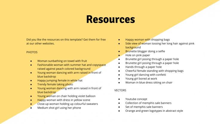 Retail Startup Pitch Deck presentation template