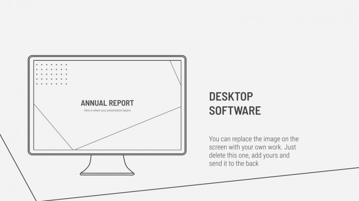 Annual Report presentation template