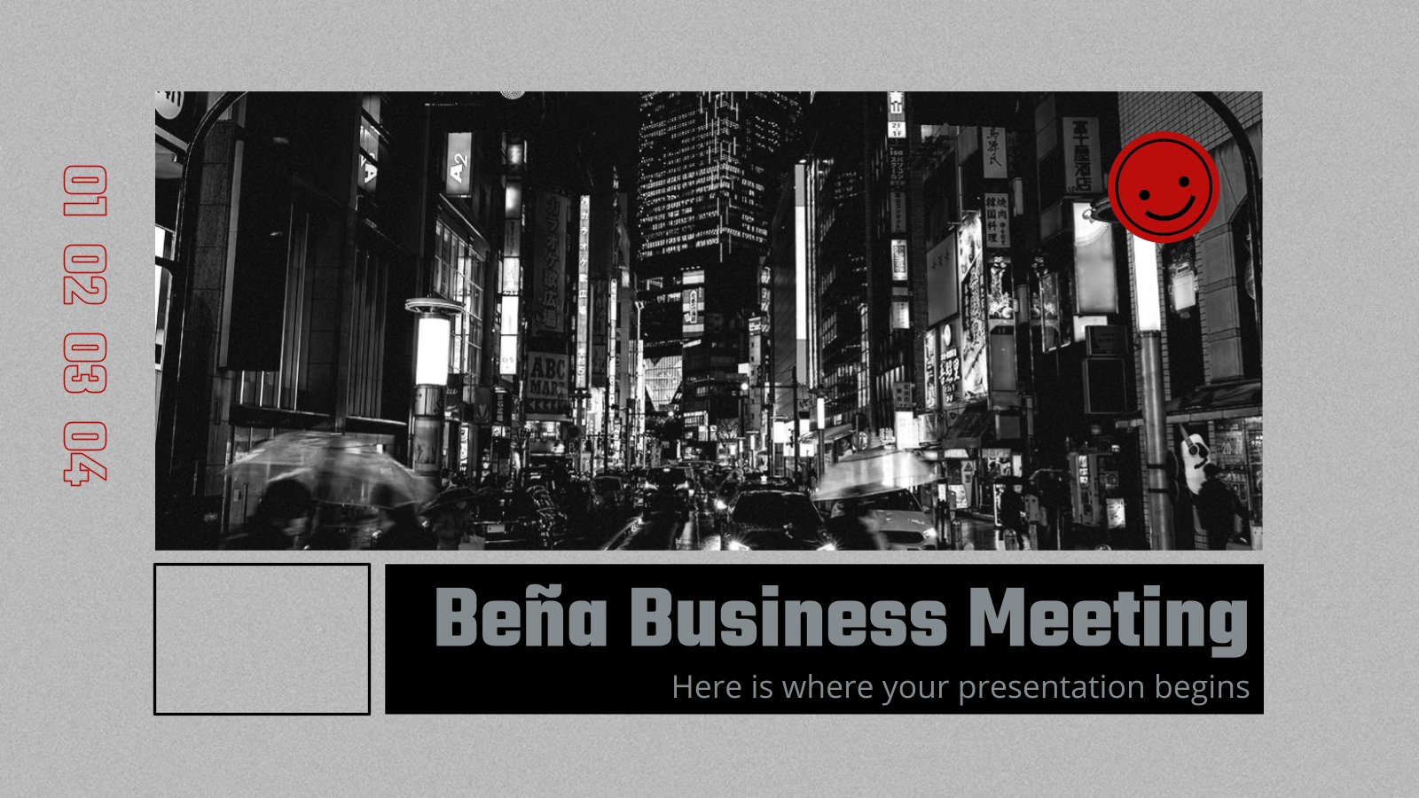 Modelo de apresentação Reunião de negócios Beña