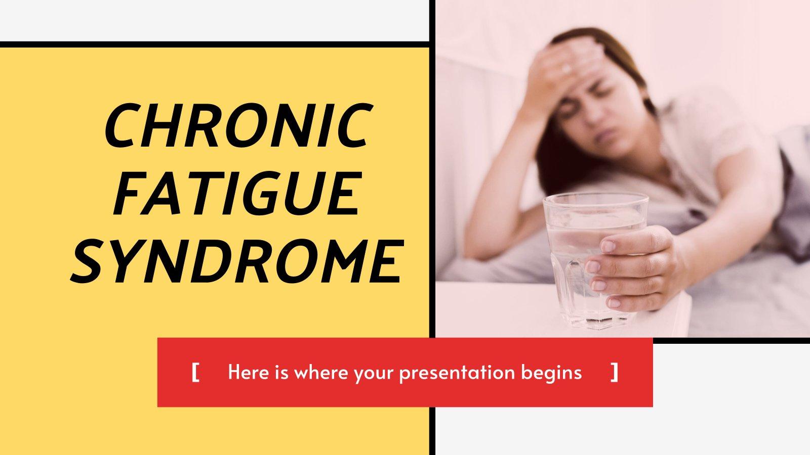 Modelo de apresentação Síndrome de fadiga crônica