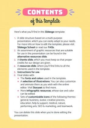 Motivational Sentences for Middle Schoolers presentation template