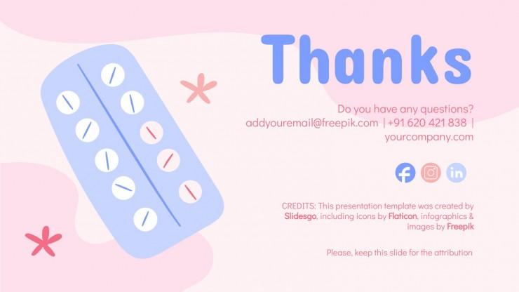 Plantilla de presentación Avance en higiene menstrual