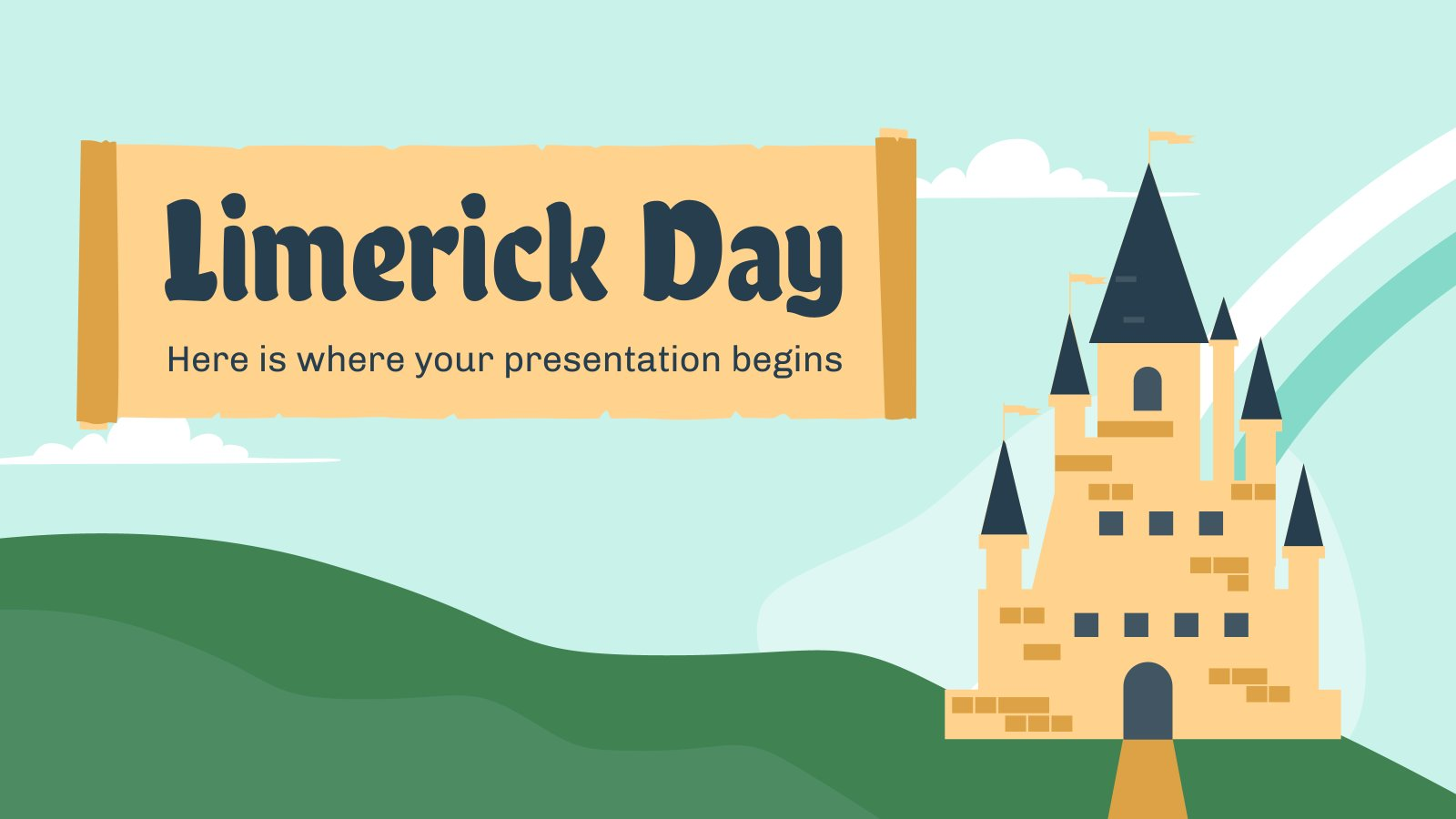 Limerick Day presentation template