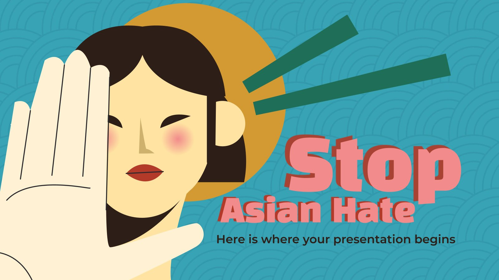 Stop Asian Hate presentation template