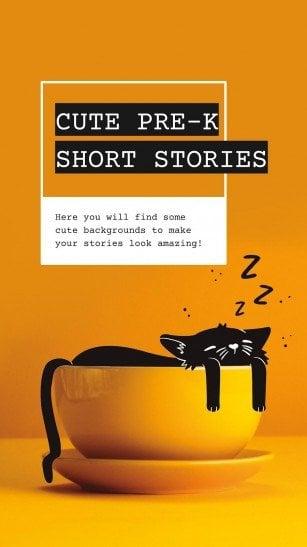 Cute Pre-K Short Stories presentation template